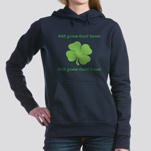 St. Patricks Day personalisable shamrock Women's H