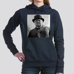 Winston Churchill Women's Hooded Sweatshirt