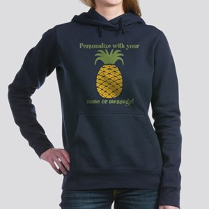 PERSONALIZED Pineapple Women's Hooded Sweatshirt