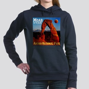 arches_np_eclipse2 Women's Hooded Sweatshirt