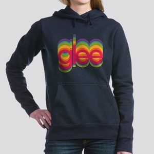 Glee Colorful Logo Women's Hooded Sweatshirt