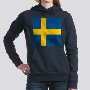 Flag of Sweden Women's Hooded Sweatshirt