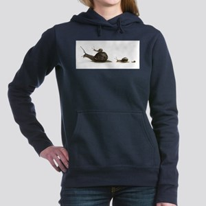 snails Hooded Sweatshirt