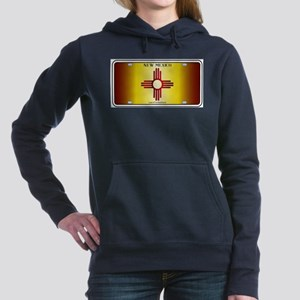 New Mexico Flag License Plate Sweatshirt