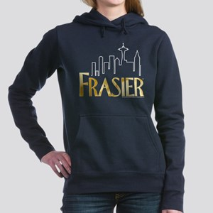 Frasier Logo Design Women's Hooded Sweatshirt