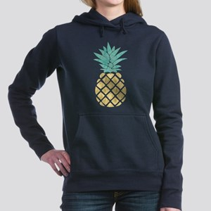 Golden Pineapple Women's Hooded Sweatshirt