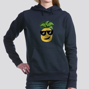 Funky Pineapple Women's Hooded Sweatshirt