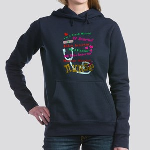 nurse humor 4 Women's Hooded Sweatshirt