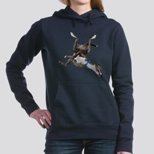Cockroaching Greyhound Women's Hooded Sweatshirt