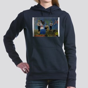 Dominican republic Women's Hooded Sweatshirt