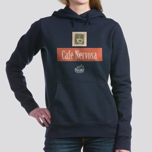 Frasier: Cafe Nervosa Women's Hooded Sweatshirt