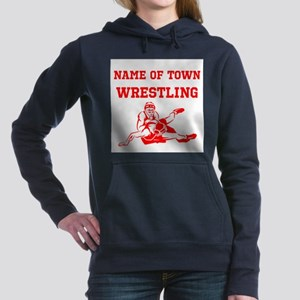 Wrestling Women's Hooded Sweatshirt