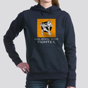 Kuk Sool Won Fighter Des Women's Hooded Sweatshirt