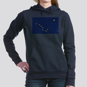 Flag of Alaska Women's Hooded Sweatshirt