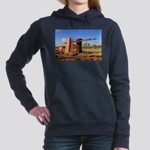 Red Centre Way sign, Outback Australia Sweatshirt