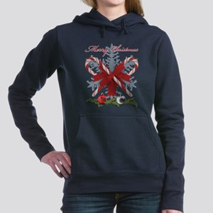 Candy Canes Merry Christmas decorations Sweatshirt
