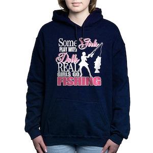 819ca1b1adc20 Girl Fishing Women's Hoodies & Sweatshirts - CafePress