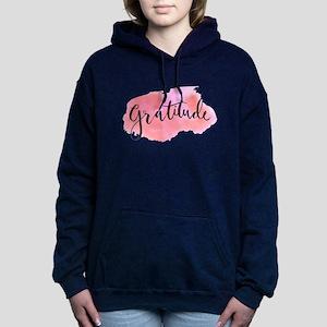 532f3d07001 Gratitude Women s Hoodies   Sweatshirts - CafePress