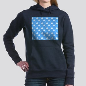 Baby Blue Floral Abstract 4Dale Sweatshirt