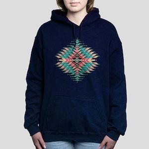 Southwest Native Style S Women's Hooded Sweatshirt
