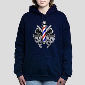 Barber Logo Women's Hooded Sweatshirt