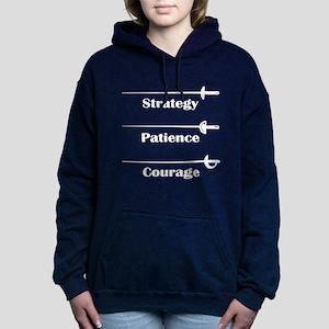 Fencing Virtues Women's Hooded Sweatshirt