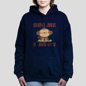 Hug Me I Am 01 Women's Hooded Sweatshirt