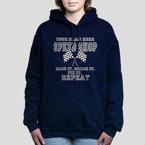 Racing Speed Shop Women's Hooded Sweatshirt