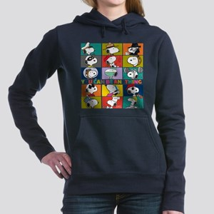 Snoopy-You Can Be Anythi Women's Hooded Sweatshirt