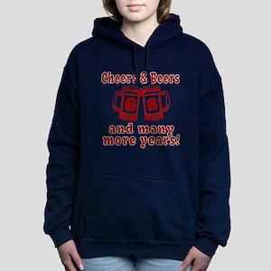 Cheers And Beers 66 And Women's Hooded Sweatshirt