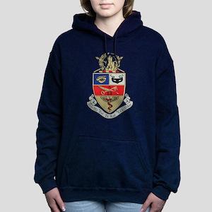 Kappa Psi Crest Women's Hooded Sweatshirt