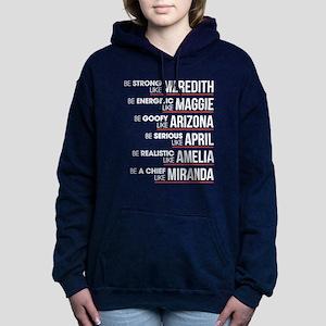 Be Strong Like Meredith Women's Hooded Sweatshirt