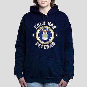 Air Force Cold War Veter Women's Hooded Sweatshirt