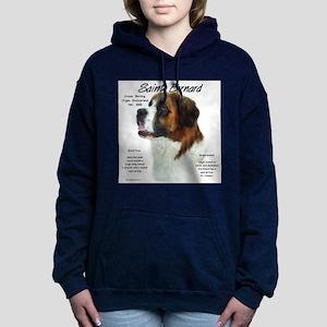 Saint Bernard (Rough) Women's Hooded Sweatshirt