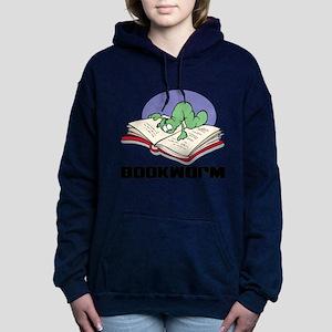 FIN-bookworm Women's Hooded Sweatshirt
