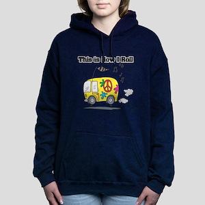 3-hippie bus Hooded Sweatshirt
