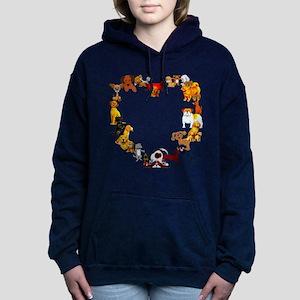 dogheart01 Hooded Sweatshirt