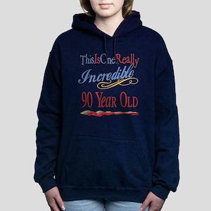 Incredibleat90 Hooded Sweatshirt