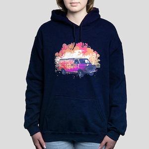 grunge retro hippie van Hooded Sweatshirt