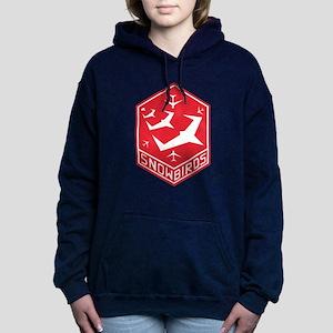 snow_bird_aerobatic Women's Hooded Sweatshirt