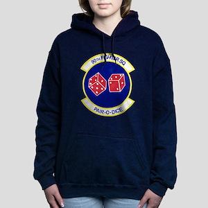 90TH_FIGHTER_f15 Women's Hooded Sweatshirt