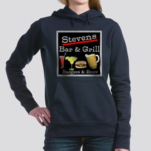Personalized Bar and Grill Women's Hooded Sweatshi