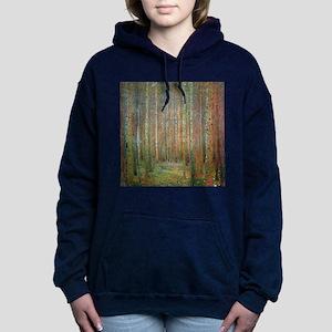 Gustav Klimt Pine Forest Hooded Sweatshirt