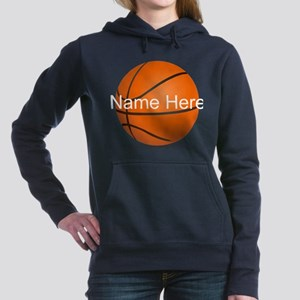 Personalized Basketball Ball Hooded Sweatshirt