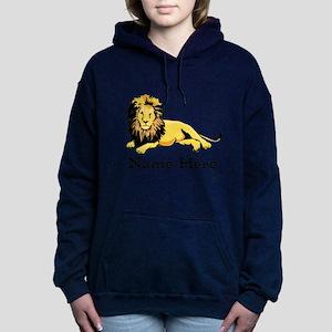 Personalized Lion Hooded Sweatshirt