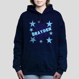 Personalized Kids Name Women's Hooded Sweatshirt