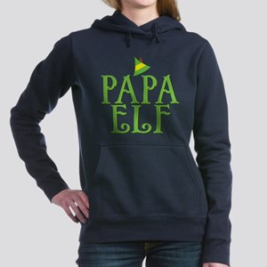Papa Elf Woman's Hooded Sweatshirt