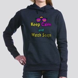 Crown Sunglasses Keep Calm And Watch Soaps Hooded