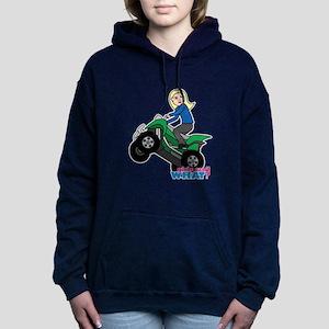 ATV Woman Blonde Sweatshirt