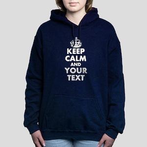 Keep Calm personalize Hooded Sweatshirt